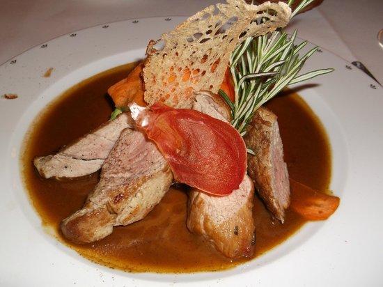 Hotel Wentzl : Beautiful food