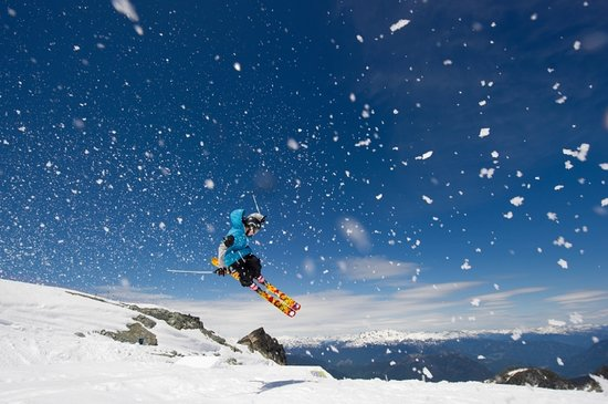 Whistler, Kanada: Glacier Skiing on Blackcomb. Mike Crane
