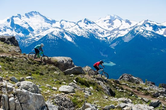 Whistler, Kanada: Top of The World. Mike Crane