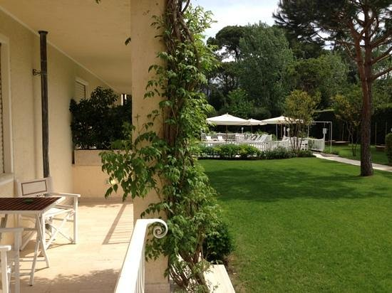 Villa Roma Imperiale: view from my patio