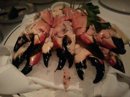 Truluck's Steak & Stone Crab: 好吃的螃蟹