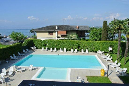 Hotel Puccini: vue depuis notre chambre