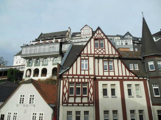 Welcome Hotel Marburg: View from my window