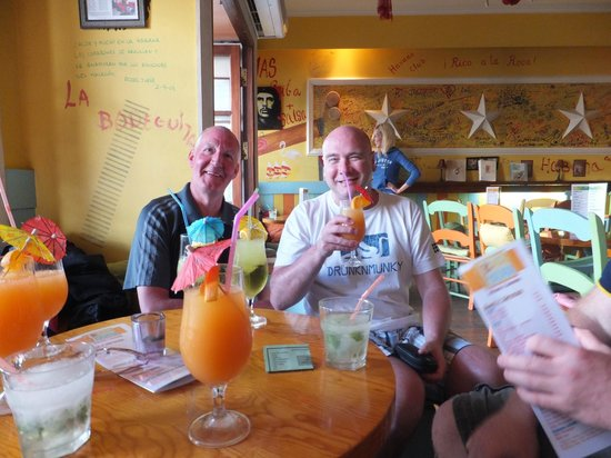 Bar Havana: 2.5 euros each !