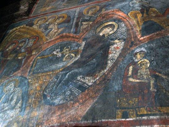 Eski Gumusler Monastery: La vierge Marie couchée