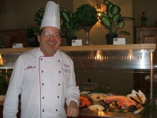 Le Nämos: Chef Pierre-André Cantin