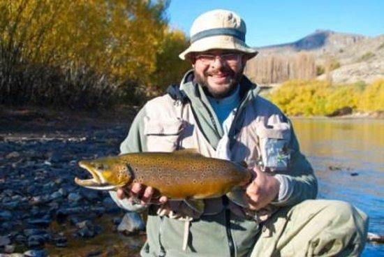 Panil Fly Fishing: Gracias Horacio....Se me cumplió el deseo de la Marronaza !!