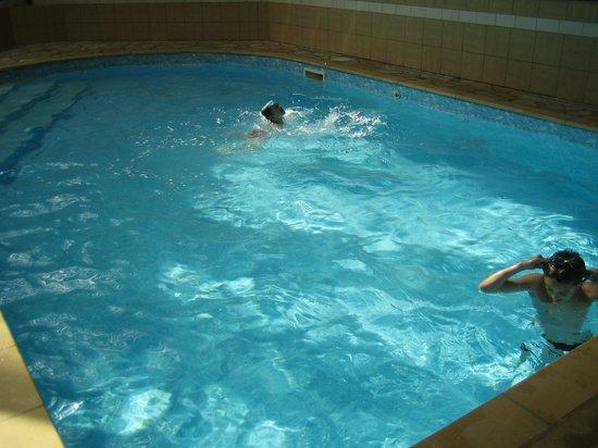 Hotel De La Poste - Annexe Champanne : nos petits enfants dans la piscine