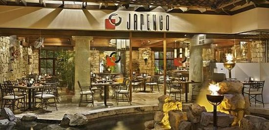 Japengo at the Hyatt in Aruba