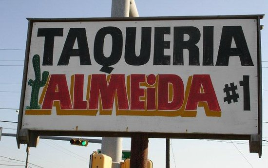Taqueria Almeida : This is the TACO STAND