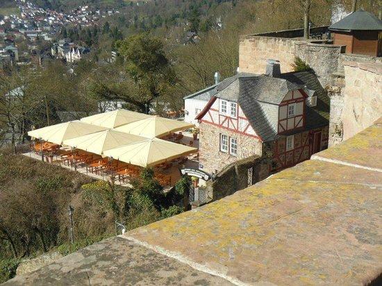 Marburger Landgrafenschloss Museum: Restaurant near the Castle
