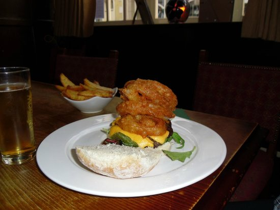 The Heart of Northumberland: Burger meal