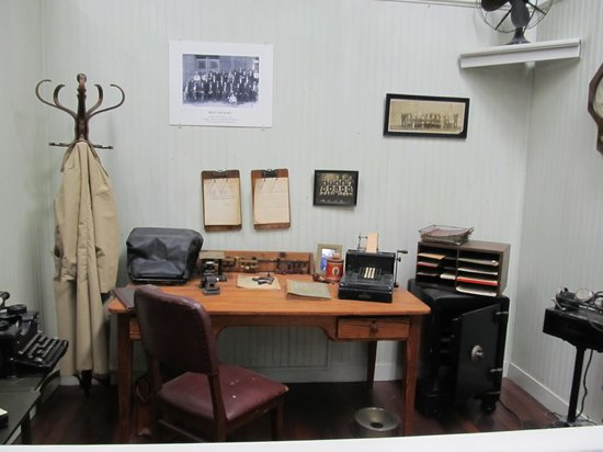 Wilmington Railroad Museum : One of the displays
