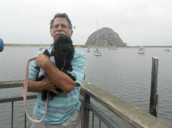 Dutchman's Seafood House: Morro Rock - Jeff & Mabel outside restaurant