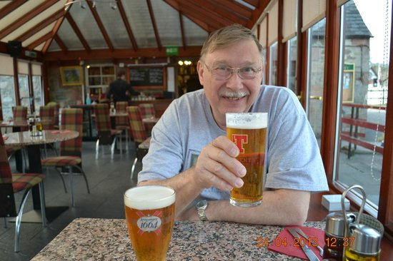 The Bothy Restaurant and Bar: Enjoying a Beverage
