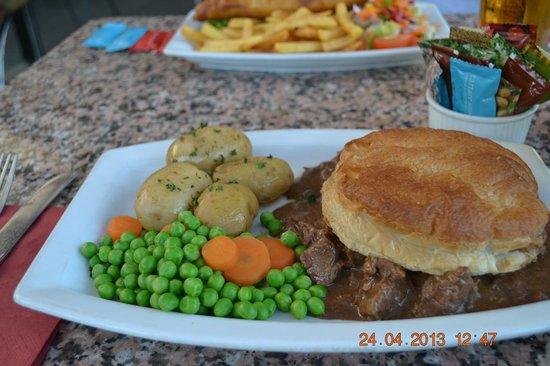 The Bothy Restaurant and Bar: Steak Pie