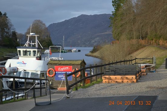 The Bothy Restaurant and Bar: View of Loch Ness From the Both