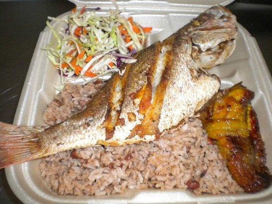 Belize Tours Unlimited: Dinner - it was good