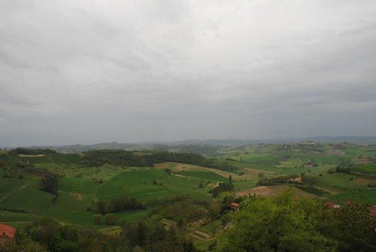 Antico Monastero: ANCHE SENZA SOLE UN PANORAMA STUPENDO