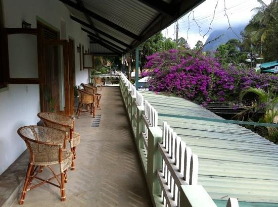 Dream Cafe & Guest House: outside rooms