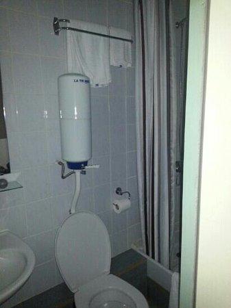 Hotel Continental : salle de bain
