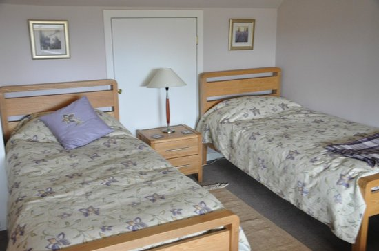 Netherfield Bed and Breakfast: Half of the room