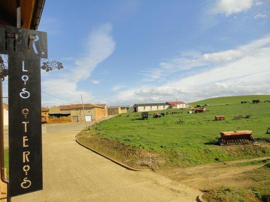 Hostal Rural Los Oteros: Vista desde la habitación
