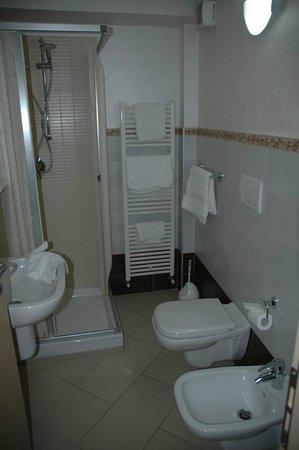 Affittacamere Borgo Roma: Bagno della camera dell'appartamento