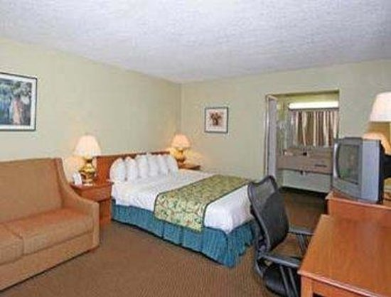 Knights Inn Asheville Airport : Standard King Bed Room