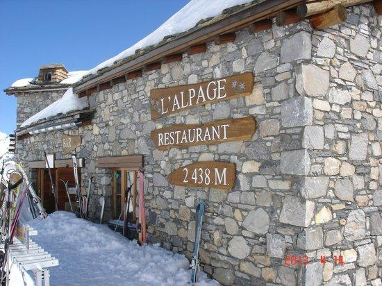 L'Alpage des Chaudannes : Super restau d'altitude !!