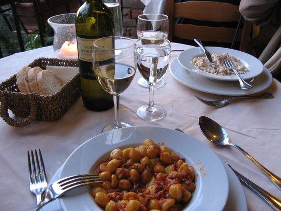 Albergo Il Castello: Het eten