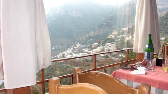 Private Tour in Italy by Domenico Iaccarino: The view we enjoyed during our lunch