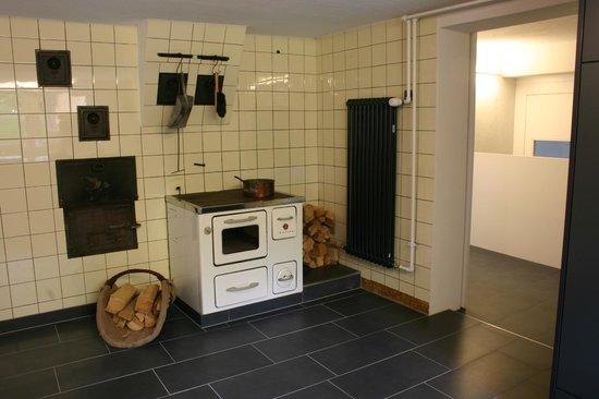 Guesthouse Hohmatt: Kitchen