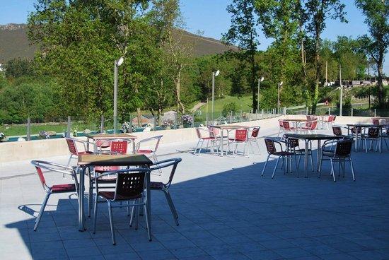 El Zangano Hotel Parrilla: Terraza