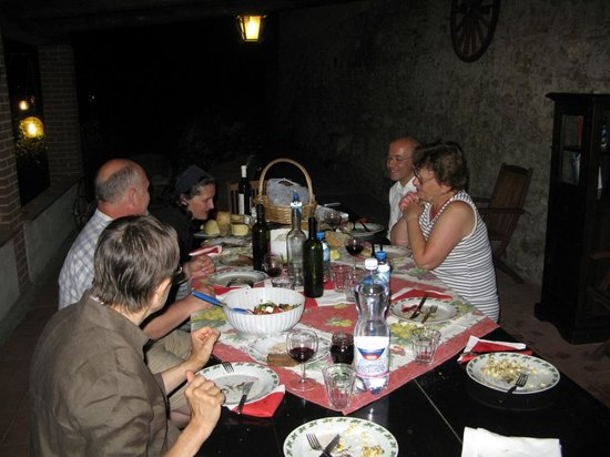 I Moricci: a shared supper