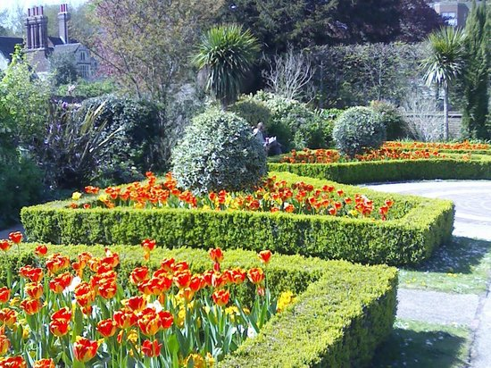 An area of the Knot Garden - Picture of Southover Grange Gardens ...