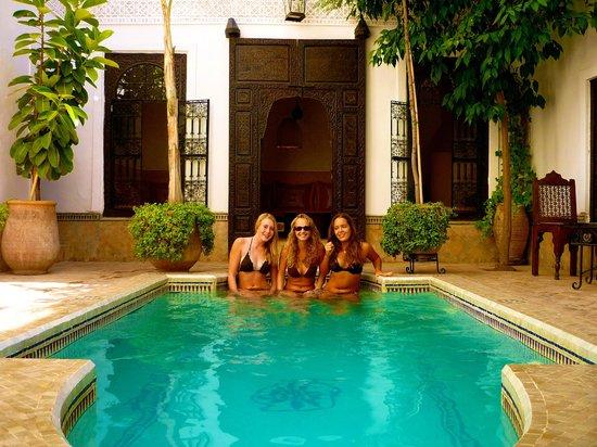 Riad Al Andaluz: La superbe piscine !