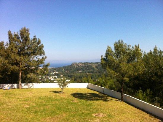 Helena Christina Hotel & Apartments: Ausblick vom Balkon