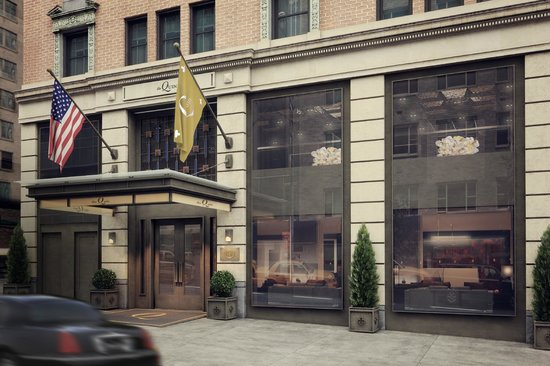 the Quin: Entrance on 57th Street