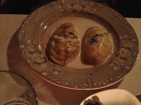 Cometa Restaurante: RAVIOLI -ANTIPASTO-