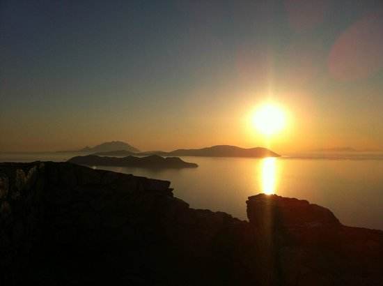 Helena Christina Hotel & Apartments: Sonnenuntergang an der Westküste