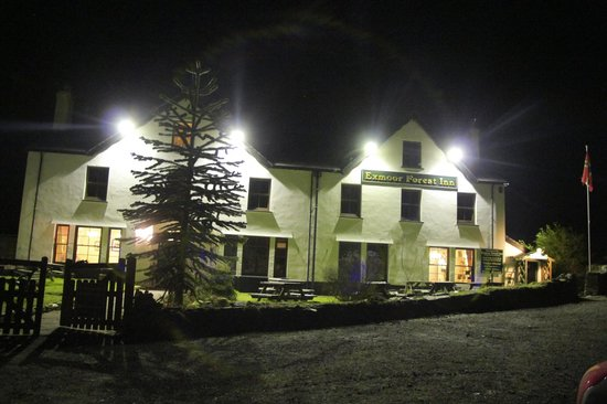 Exmoor Forest Inn at Night