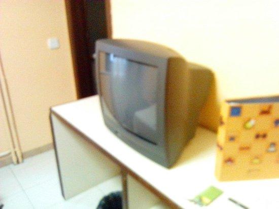 Hotel City M28: Televisor de la habitación