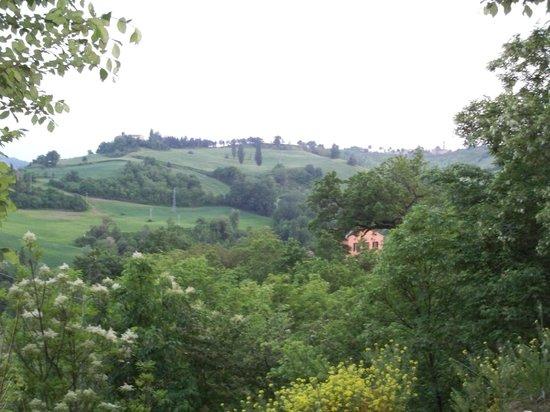 Country House Ca' Vernaccia: Vista all'arrivo