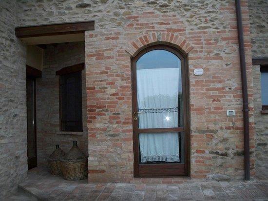 Country House Ca' Vernaccia: Il tondo,la nostra camera