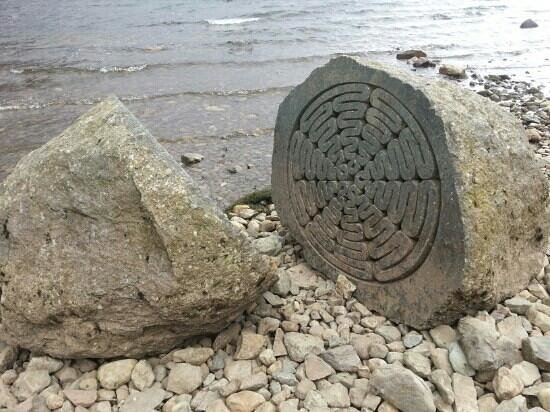 Keswick, UK: sliced stone :)