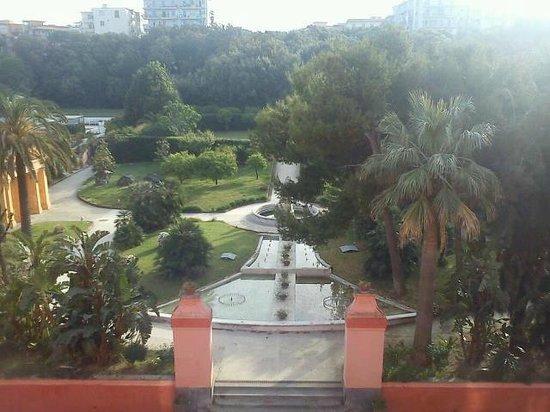 Miglio d'Oro Park Hotel: il panorama dalla camera