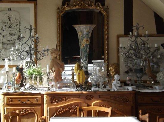 Le Coquerel : salle à manger