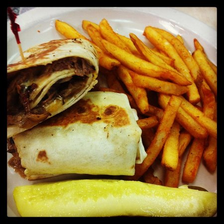 Peach's Restaurant: Love the wraps