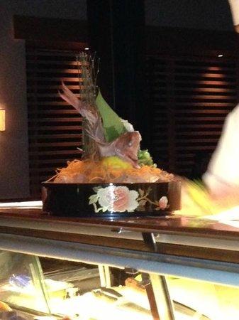 Blue Ribbon Sushi Bar & Grill - The Cosmopolitan of Las Vegas: What a Presentation of Food!!!